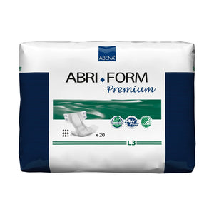 Unisex Adult Incontinence Brief Abri-Form™ Premium L3 Large Disposable Heavy Absorbency
