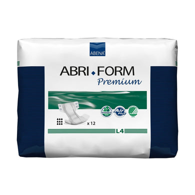 Unisex Adult Incontinence Brief Abri-Form™ Premium L4 Large Disposable Heavy Absorbency