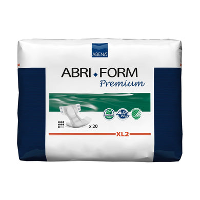 Unisex Adult Incontinence Brief Abri-Form™ Premium XL2 X-Large Disposable Heavy Absorbency
