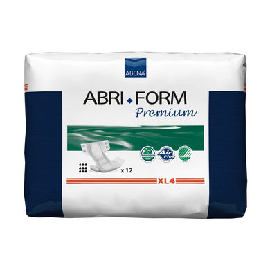 Unisex Adult Incontinence Brief Abri-Form™ Premium XL4 X-Large Disposable Heavy Absorbency