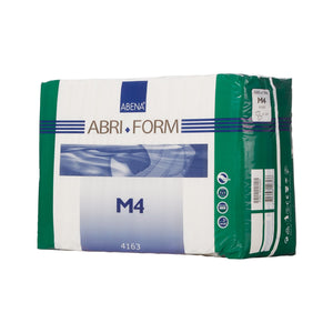 Unisex Adult Incontinence Brief Abri-Form™ Comfort M4 Medium Disposable Heavy Absorbency