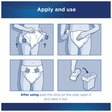 Load image into Gallery viewer,  Unisex Adult Incontinence Brief Attends® Bariatric 3X-Large Disposable Heavy Absorbency