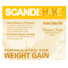 Load image into Gallery viewer, Oral Supplement Scandishake® Banana Cream Flavor Powder 3 oz. Individual Packet