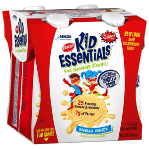 Oral Supplement Boost® Kid Essentials Vanilla Flavor Ready to Use 8.25 oz. Carton