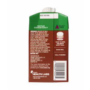 Thickened Beverage Thick & Easy® Dairy 8 oz. Carton Chocolate Flavor Ready to Use Nectar Consistency