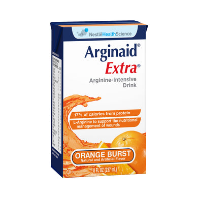 Arginine Supplement Arginaid Extra® Orange Burst Flavor 8 oz. Tetra Brik Ready to Use