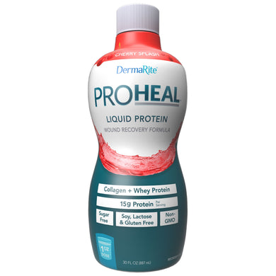 Oral Protein Supplement ProHeal™ Cherry Splash Flavor Ready to Use 30 oz. Bottle