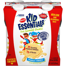 Load image into Gallery viewer,  Oral Supplement Boost® Kid Essentials Vanilla Flavor Ready to Use 8.25 oz. Carton