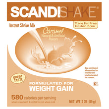 Load image into Gallery viewer,  Oral Supplement Scandishake® Caramel Flavor Powder 3 oz. Individual Packet