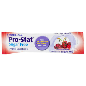 Protein Supplement Pro-Stat® Sugar-Free Wild Cherry Punch Flavor 1 oz. Individual Packet Ready to Use
