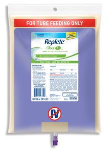 Tube Feeding Formula Replete® Fiber 50.7 oz. Bag Ready to Hang Unflavored Adult