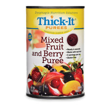 Load image into Gallery viewer,  Puree Thick-It® 15 oz. Can Mixed Fruit and Berry Flavor Ready to Use Puree Consistency
