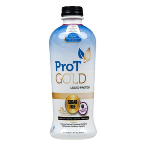 Oral Protein Supplement ProT Gold Berry Flavor Ready to Use 30 oz. Bottle