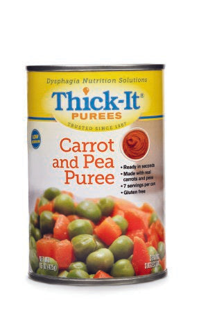 Puree Thick-It® 15 oz. Can Carrot and Pea Flavor Ready to Use Puree Consistency