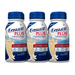 Oral Supplement Ensure® Plus Vanilla Flavor Ready to Use 8 oz. Bottle
