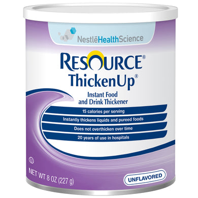 Food and Beverage Thickener Resource® Thickenup® 8 oz. Canister Unflavored Powder Consistency Varies By Preparation