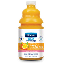 Load image into Gallery viewer,  Thickened Beverage Thick-It® Clear Advantage® 64 oz. Bottle Orange Flavor Ready to Use Nectar Consistency