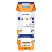 Load image into Gallery viewer,  Tube Feeding Formula Isosource® HN 8.45 oz. Carton Ready to Use Unflavored Adult