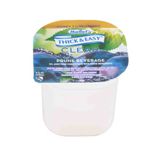 Load image into Gallery viewer,  Thickened Beverage Thick & Easy® 4 oz. Portion Cup Prune Flavor Ready to Use Honey Consistency