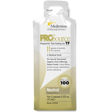 Tube Feeding Formula ProSource TF 45 mL Pouch Ready to Hang Unflavored Adult
