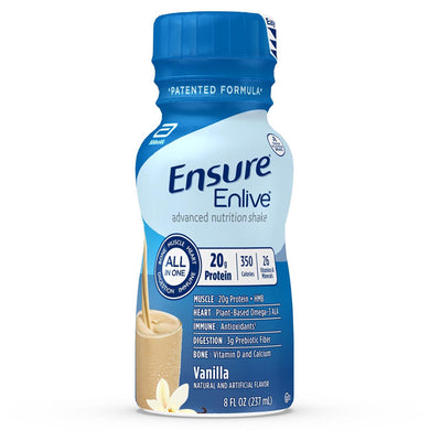 Oral Supplement Ensure® Enlive® Advanced Vanilla Flavor Ready to Use 8 oz. Bottle