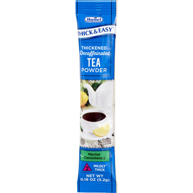 Decaffeinated Beverage Thickener Thick & Easy® 0.18 oz. Individual Packet Tea Flavor Powder Nectar Consistency