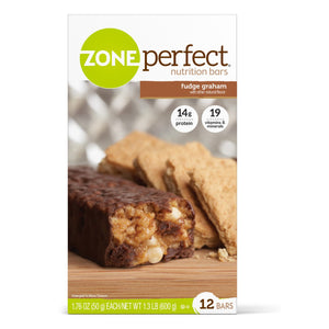Oral Supplement ZonePerfect® Fudge Graham Flavor Ready to Use 1.76 oz. Individual Packet