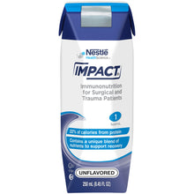 Load image into Gallery viewer,  Tube Feeding Formula Impact® 8.45 oz. Carton Ready to Use Unflavored Adult