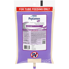 Load image into Gallery viewer,  Tube Feeding Formula Peptamen AF® 33.8 oz. Bag Ready to Hang Unflavored Adult