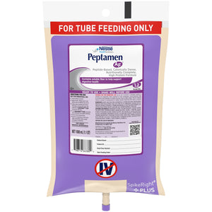 Tube Feeding Formula Peptamen AF® 33.8 oz. Bag Ready to Hang Unflavored Adult
