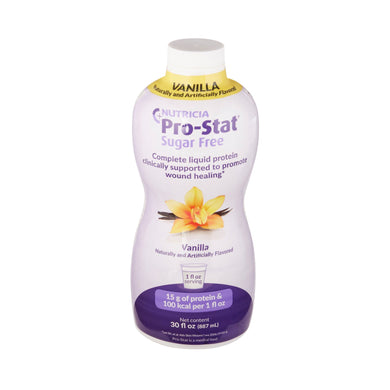 Protein Supplement Pro-Stat® Sugar-Free Vanilla Flavor 30 oz. Bottle Ready to Use