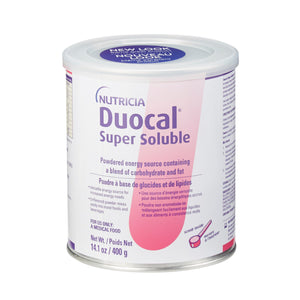 High Calorie Oral Supplement Duocal® Unflavored 14 oz. Can Powder