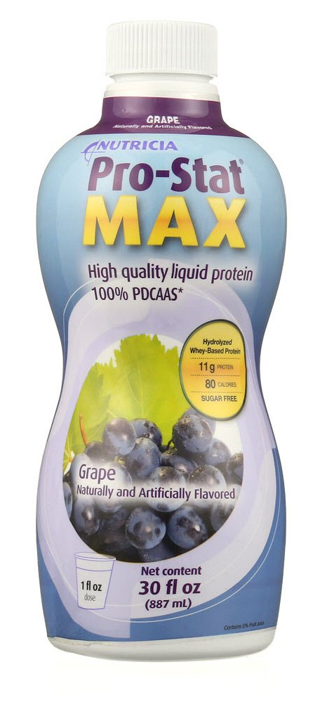 Protein Supplement Pro-Stat® Max Grape Flavor 30 oz. Bottle Ready to Use