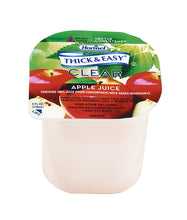 Load image into Gallery viewer,  Thickened Beverage Thick & Easy® 4 oz. Portion Cup Apple Juice Flavor Ready to Use Nectar Consistency