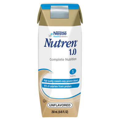 Tube Feeding Formula Nutren® 1.0 8.45 oz. Carton Ready to Use Unflavored Adult