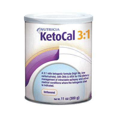 Oral Supplement KetoCal® 3:1 Unflavored Powder 300 Gram Can