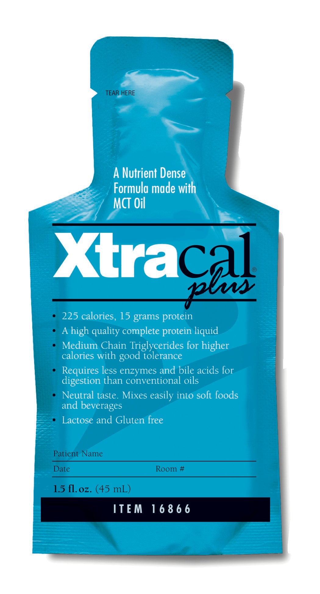 High Calorie Supplement XtraCal™ Plus Unflavored 1 oz. Individual Packet Concentrate