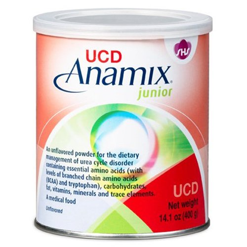 Urea Cycle Disorder Oral Supplement UCD Anamix Junior Vanilla Flavor 14 oz. Can Powder