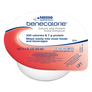 Calorie and Protein Food Enhancer Benecalorie® Unflavored 1.5 oz. Cup Ready to Use