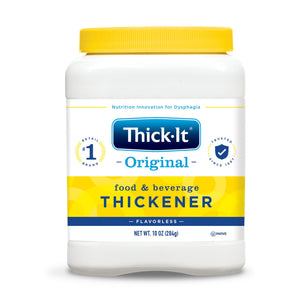 Food and Beverage Thickener Thick-It® Original 10 oz. Canister Unflavored Powder Consistency Varies By Preparation