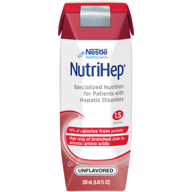Tube Feeding Formula NutriHep® 8.45 oz. Carton Ready to Use Unflavored Adult