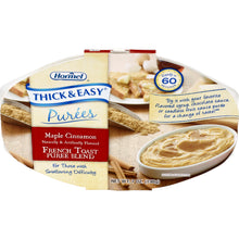 Load image into Gallery viewer,  Puree Thick & Easy® Purees 7 oz. Tray Maple Cinnamon French Toast Flavor Ready to Use Puree Consistency