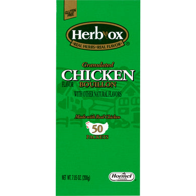 Instant Broth Herb-Ox® Chicken Flavor Bouillon Ready to Use 8 oz. Individual Packet