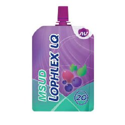 MSUD Oral Supplement Lophlex® LQ Mixed Berry Flavor 125 mL Individual Packet Ready to Use