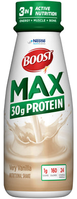 Oral Protein Supplement Boost® Max Very Vanilla Flavor Ready to Use 11 oz. Bottle
