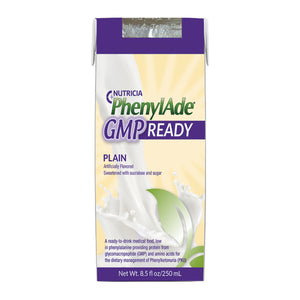PKU Oral Supplement PhenylAde® GMP READY Neutral Flavor 8.5 oz. Carton Ready to Use