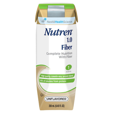 Tube Feeding Formula Nutren® 1.0 Fiber 8.45 oz. Carton Ready to Use Unflavored Adult
