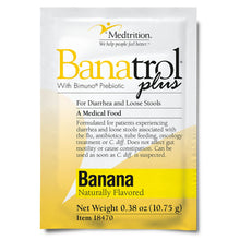 Load image into Gallery viewer,  Oral Supplement Banatrol® Plus Banana Flavor Powder 10.75 Gram Individual Packet