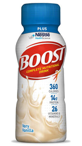 Oral Supplement Boost® Plus Very Vanilla Flavor Ready to Use 8 oz. Bottle