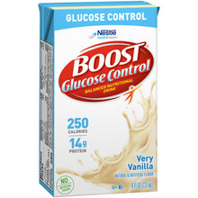 Load image into Gallery viewer,  Oral Supplement Boost® Glucose Control® Vanilla Flavor Ready to Use 8 oz. Tetra Brik